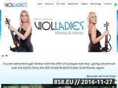 Miniaturka domeny www.violladies.com