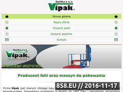 Miniaturka domeny www.vipak.pl