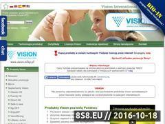 Miniaturka domeny www.vision.sklep.pl