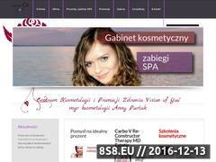 Miniaturka domeny www.visionofyou.pl