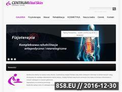Miniaturka domeny vital-skin.pl