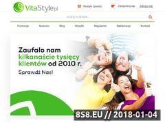Miniaturka vitastyle.pl (Żywność ekologiczna VitaStyle)