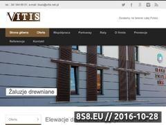 Miniaturka vitis.net.pl (Elewacje drewniane)