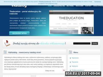 Zrzut strony VipKatalog - katalog stron www