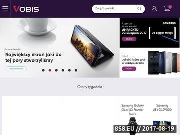 Zrzut strony Vobis.pl - Strona główna