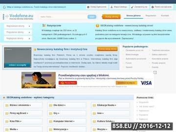 Zrzut strony Vodofone.eu - Oryginalne akcesoria komórkowe import i dystrybucja sklep GSM online