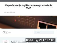 Miniaturka domeny www.voipinformacje.pl