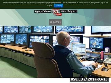 Zrzut strony Ochrona mienia Bydgoszcz