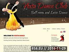 Miniaturka domeny www.voxtadance.co.uk