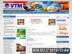 Miniaturka domeny www.vtm.com.pl