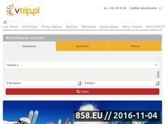 Miniaturka domeny www.vtrip.pl