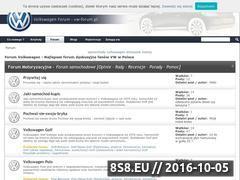 Miniaturka vw-forum.pl (Dyskusje, pomoc i porady)