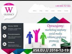 Miniaturka domeny w-olesnicy.pl