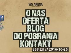 Miniaturka w5arena.pl (Rozgrywki laserowego paintballa)