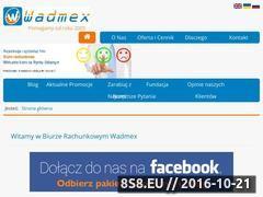 Miniaturka domeny wadmex.pl
