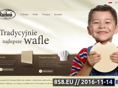 Miniaturka domeny www.wafledomowe.pl