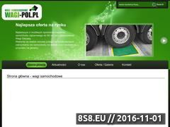 Miniaturka domeny www.wagi-pol.pl