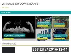 Miniaturka domeny wakacjedominikana.pl