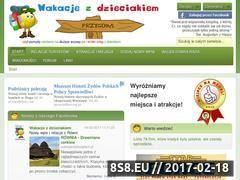 Miniaturka domeny wakacjezdzieciakiem.pl
