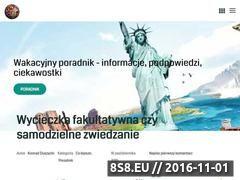 Miniaturka wakacyjnyporadnik.pl (Porady dla turystów chcących wyjechać na wakacje)