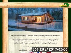 Miniaturka domeny www.wakodomy.pl