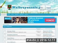 Miniaturka walbrzyszanie.pl (Forum Mieszkańców Wałbrzycha)