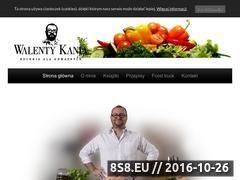 Miniaturka Kuchnia dla odważnych Walenty Kania (www.walentykania.pl)