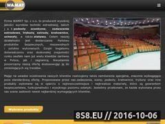 Miniaturka Trybuny sportowe, podesty, sceny oraz kratownice (www.wamat.com.pl)