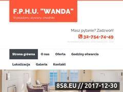Miniaturka wandaolkusz.pl (Sklep z wykładzinami, dywanami i chodnikami)