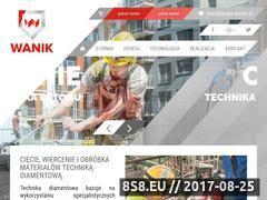 Miniaturka domeny wanik-technikadiamentowa.pl