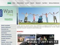 Miniaturka domeny www.wanmed.pl