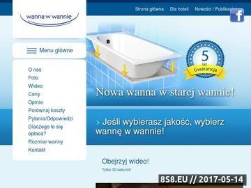 Zrzut strony Wanna w wannie Sp. z o.o.