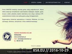 Miniaturka domeny www.wanted-team.pl