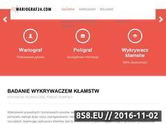 Miniaturka domeny wariograf24.com