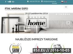 Miniaturka warsawexpo.eu (Powierzchnie wystawiennicze oraz targowe)