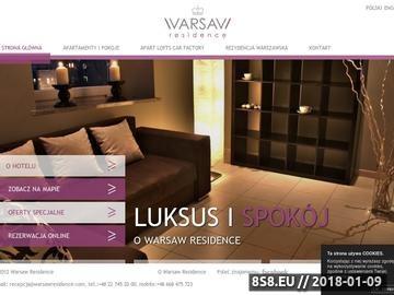 Zrzut strony Apartamenty Warszawa
