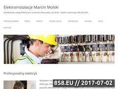 Miniaturka domeny www.warszawa-elektryk.pl