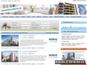 Zrzut strony Warszawa nowe mieszkania