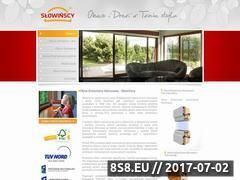 Miniaturka www.warszawa.slowinscy.pl (Okna drewniane, okna pasywne oraz okna drew alu)