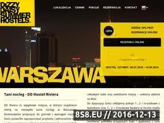Miniaturka domeny www.warszawahostel.pl
