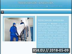 Miniaturka warszawaprzeprowadzki.pl (Przeprowadzki i transport mebli)