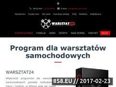 Miniaturka domeny www.warsztat24.com