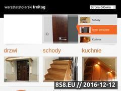 Miniaturka domeny www.warsztatstolarski-freitag.pl