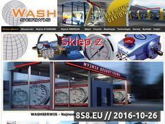 Miniaturka domeny www.washserwis.pl