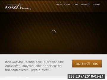 Zrzut strony Wats kompozyty - technologie kompozytowe