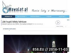 Miniaturka domeny www.wawalot.pl