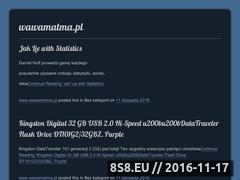Miniaturka domeny wawamatma.pl