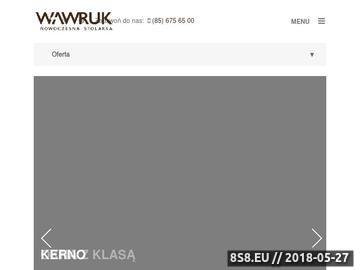 Zrzut strony Okna Białystok