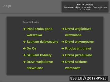 Zrzut strony Wojskowe centrum dowodzenia PRL :: wcd.oz.pl