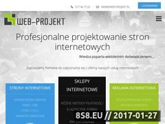 Miniaturka domeny www.web-projekt.pl